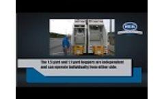 Heil DP 4060 Split Body Garbage Truck Body - Video