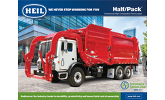 Heil Half/Pack - Model Freedom - Front Load Parbage Truck - Brochure
