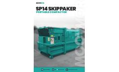 Moovmor - Model SP14 - Portable Compactor Skipppaker - Brochure