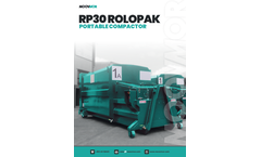 Moovmor - Model RP30 - Rolopak Portable Compactor - Brochure