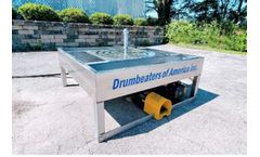 Drumbeaters - Model TCW-100 - Trash Can Washer