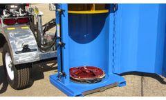 Drum Crusher Barrel Compactor - Video