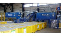 Balcan - Model MP 6000 - Lamp Recycling Systems