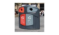 Nexus - Model 200  - Plastic Bottle / Can Recycling Bin