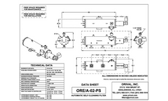 Model ORE/A Series - Automatic Self-Cleaning Motorized Water Filter Units Brochure