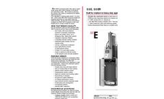 Ram Flat - 55E, 55ER - Drum Compactor Brochure