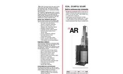 RAM FLAT - 55A, 55AR & 85AR - Drum Compactors and Crushers Brochure