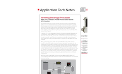 Sierra - Brewery/Beverage Processes - Application Technical Note