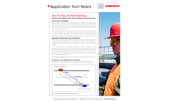 Avoid Costly Mistakes - Get the Key with Ultrasonic Flow Meters - Application Tech Notes