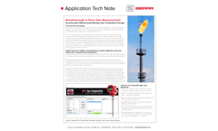 Breakthrough in Flare Gas Measurement - Application Tech Notes