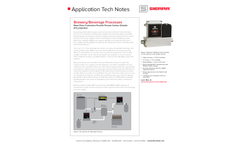 Beverage Manufacturing Application Tech Note