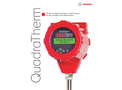 QuadraTherm Thermal Mass Flow Meter for High Accuracy Air, Gas, and Mixture Flow Measurement - Technical Datasheet