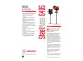 SteelMass 640S Immersible Thermal Gas Mass Flow Meter - Technical Datasheet