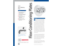 In-line Flow Conditioning Plates - Technical Datasheet