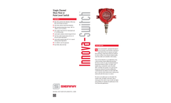Innova-Switch Single Channel Mass Flow or Point Level Switch - Technical Datasheet