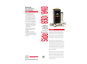 SideTrak 830/840 Process Gas Mass Flow Meters and Controllers - Technical Datasheet