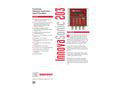InnovaSonic 203 - Economical Ultrasonic Transit-Time Liquid Flow Meter - Technical Datasheet