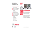 MicroTrak 101 Ultra Low Flow High Performance Digital Gas Mass Flow Meters and Controllers - Technical Datasheet