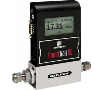 Sierra SmartTrak - Model 50 Series - Low-Cost Digital Mass Flow Controllers & Mass Flow Meters