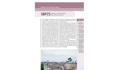Sereco - Model SBFCS - Sewage Pre-Treatment Station with Shaftless Screw Filter Brochure