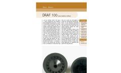 Sereco - Model DRAF 100 - Coarse Bubble Air Diffuser Brochure