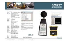SPS - Model Tango - Integrating Basic Sound Level Meter - Brochure