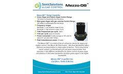 Mezzo-DB - Ultrasonic Algae Control Device Kills and Controls Algae - Datasheet