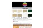 Color Card Brochure