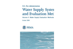 Water Supply Systems and Evaluation Methods Volume II- Brochure