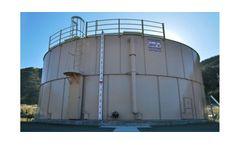 Precision Engineered Factory Powder Coated Steel Storage Tanks