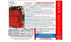 TeeMark - Model DPC85 - Drum Crusher - Brochure