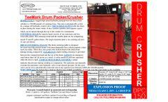 TeeMark - Model DPC150 - Drum Crusher - Brochure