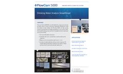 FlowCam - Model 5000 - Drinking Water Analysis Streamlined - Brochure