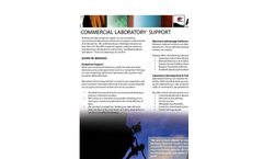 Commercial Lab Support - Brochure