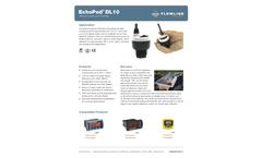 EchoPod DL10 Ultrasonic Liquid Level Transmitter - Datasheet