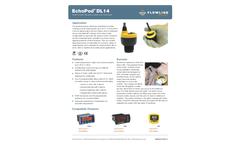 EchoPod DL14 Multi-Function Ultrasonic Liquid Level Transmitter - Datasheet