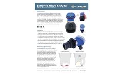 EchoPod UG06 & UG12 Reflective Ultrasonic Liquid Level Transmitter - Datasheet