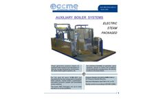ACME - Model ABS-CEJS-24SC-01 - Auxiliary Boiler Systems - Brochure
