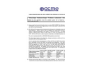 ACME UniSet - Gas Detection & Control Unit - Specifications