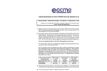 ACME TwinSet - Dual Gas Detection & Control Unit - Specifications