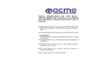 ACME - Model WR Series - Remote Wireless Relay Module - Specifications