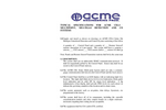ACME - Model CEL4 Series - Multipoint & Multigas Centralized Detection and Control System - Specifications