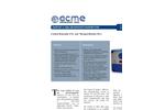ACME GasPost - Model II RS485 - ECH-ST Series - Dual Gas Sensors/Transmitters - Brochure