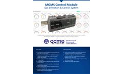 ACME MGMS - Gas Detection & Control System Module - Brochure