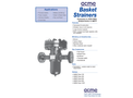 ACME - Basket Type Strainers - Brochure
