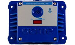 Acme GasPost - Model II RS485 - ECH-ST Series - Toxic Gas Sensor/Transmitter Measures