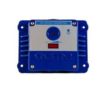 Acme GasPost - Model II RS485 - ECH-ST Series - Toxic Gas Sensor/Transmitter Measures