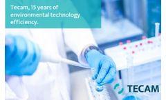 Tecam, 15 years of environmental technology efficiency