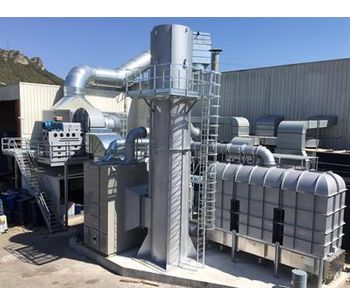 Tecam Group - Zeolite Rotor-Concentrator + Regenerative Thermal Oxidizer (RTO) Unit