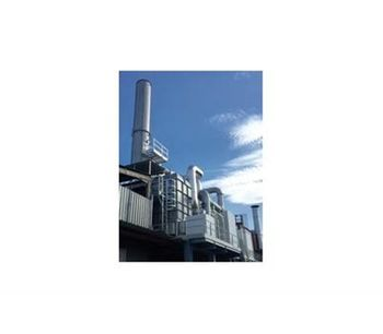 Zeolite Rotor-Concentrator + Regenerative Thermal Oxidizer (RTO) Unit-2